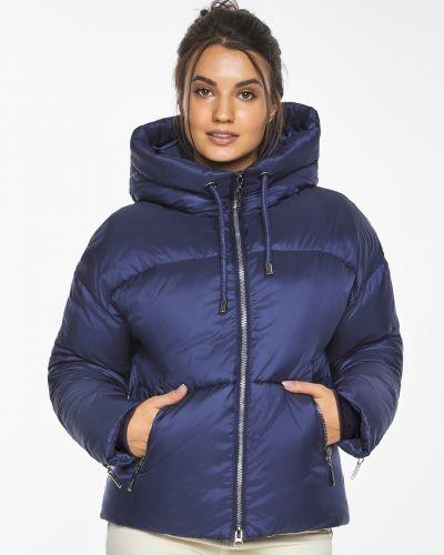 Бархатная куртка - синяя Braggart