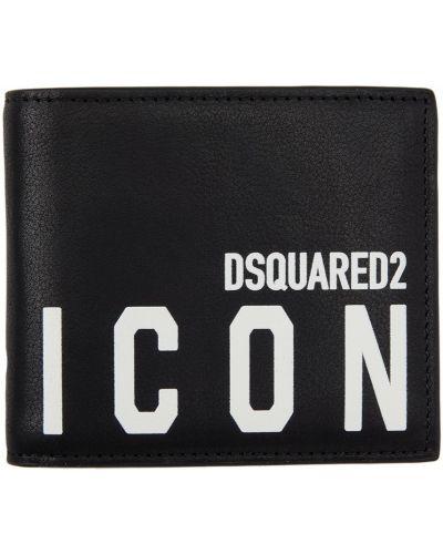 Biały portfel skórzany Dsquared2