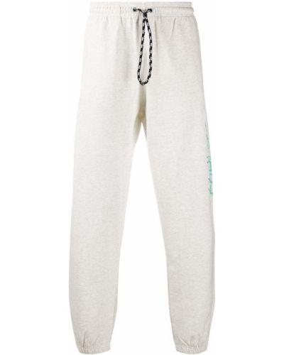 Спортивные брюки с карманами серые Adidas Originals By Alexander Wang