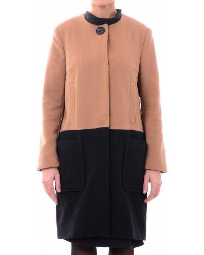 Коричневое пальто Twin-set