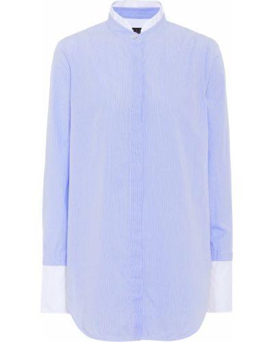 Niebieska koszula bawełniana w paski Rag & Bone