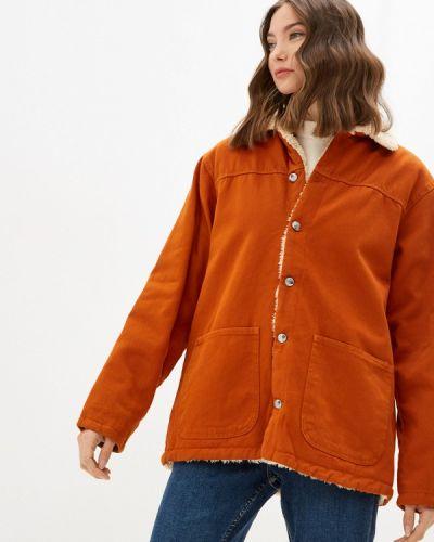 Утепленная куртка - оранжевая Mossmore
