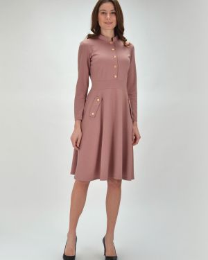 Платье с поясом платье-сарафан из вискозы Viserdi