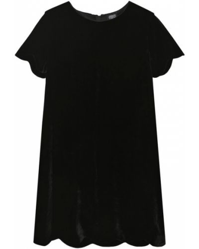 Платье из вискозы шелковое Armani Junior
