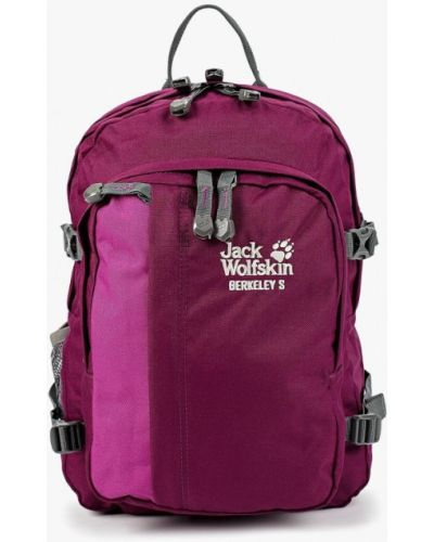 Рюкзак кожаный фиолетовый Jack Wolfskin