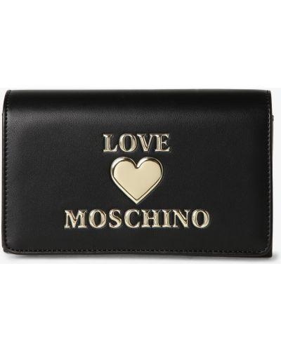 Czarna kopertówka Love Moschino