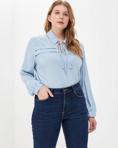 Голубая блузка осенняя Svesta