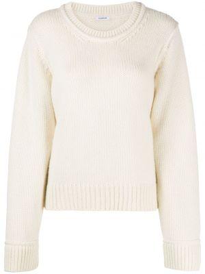 Шерстяной вязаный длинный свитер круглый P.a.r.o.s.h.