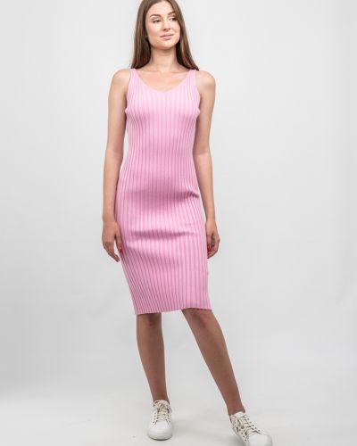 Розовое весеннее платье Dasti