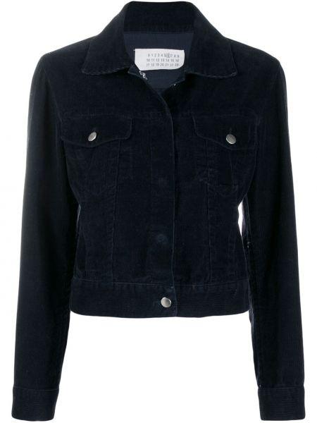 Синий пиджак с манжетами Maison Martin Margiela Pre-owned