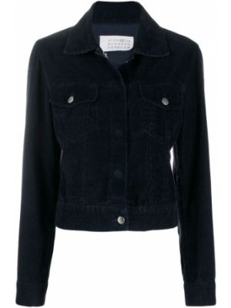 Классическая синяя куртка с манжетами Maison Martin Margiela Pre-owned