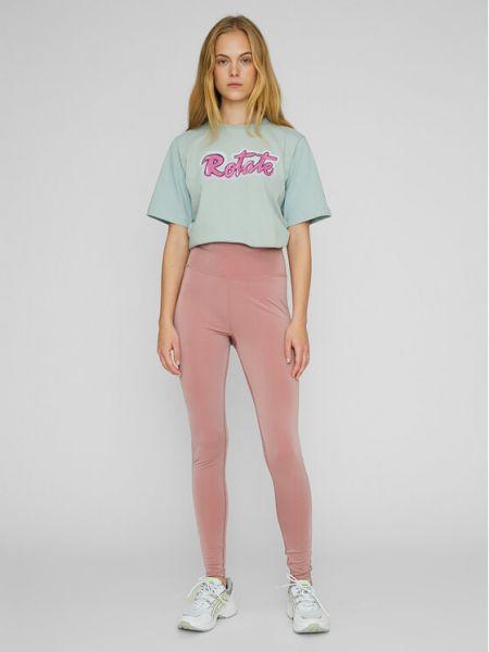 Różowe legginsy Rotate