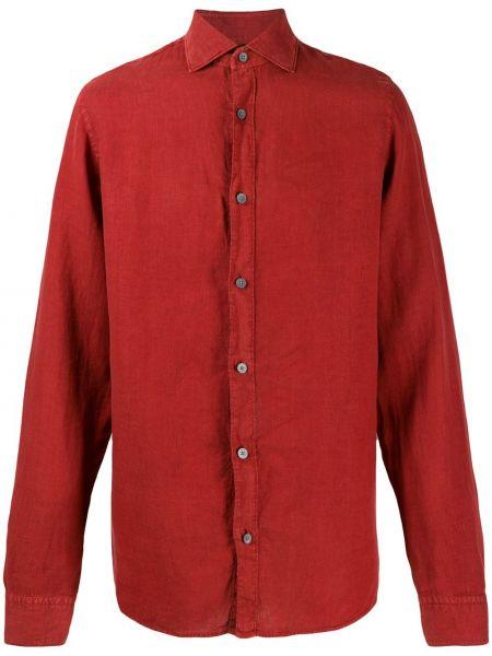 Koszula z długim rękawem klasyczna długa Z Zegna