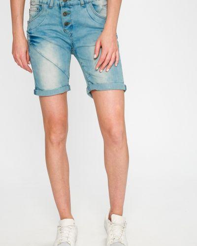 Джинсовые шорты синий с карманами Sublevel
