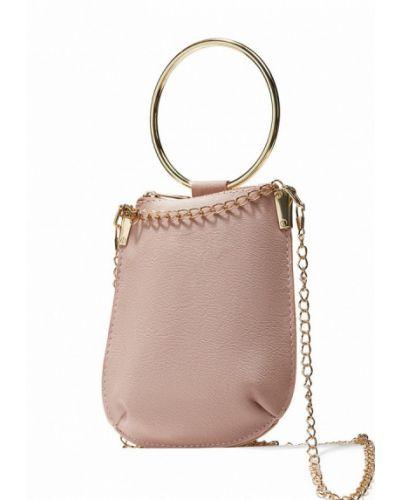 Розовая кожаный сумка Nothing But Love