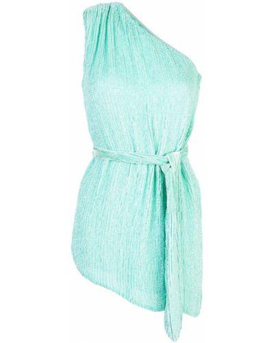 Платье с поясом на одно плечо с пайетками Retrofete