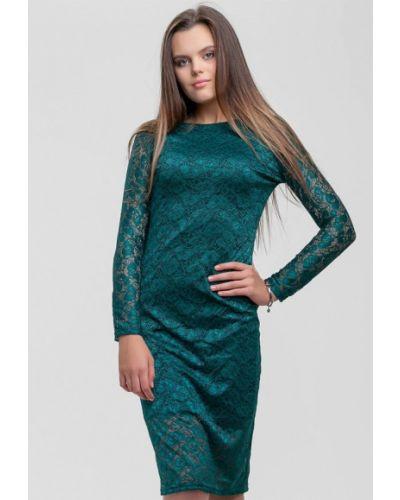 Вечернее платье - зеленое Sfn