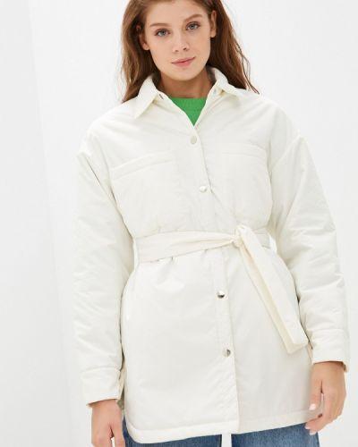 Утепленная куртка - белая Imocean