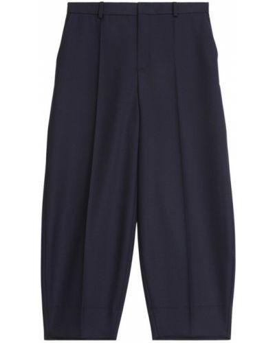 Niebieskie spodnie Rodebjer