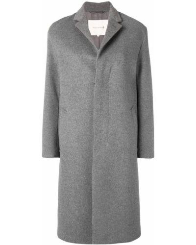 Однобортное пальто с капюшоном Mackintosh 0001