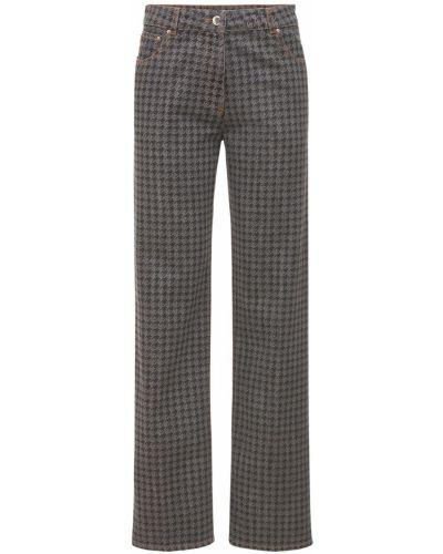 Джинсовые джинсы Nina Ricci