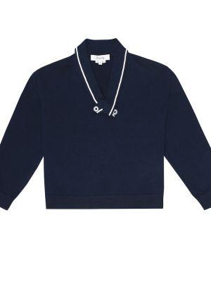 Темно-синий свитер Bonpoint