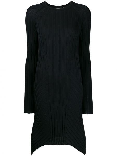 Платье в рубчик длинное Helmut Lang