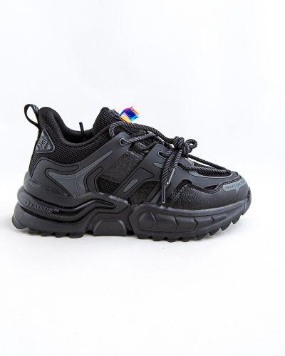 Черные весенние кроссовки Baas