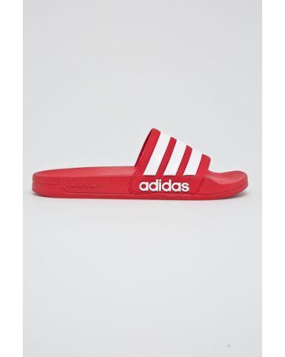 Красные сандалии текстильные Adidas Performance