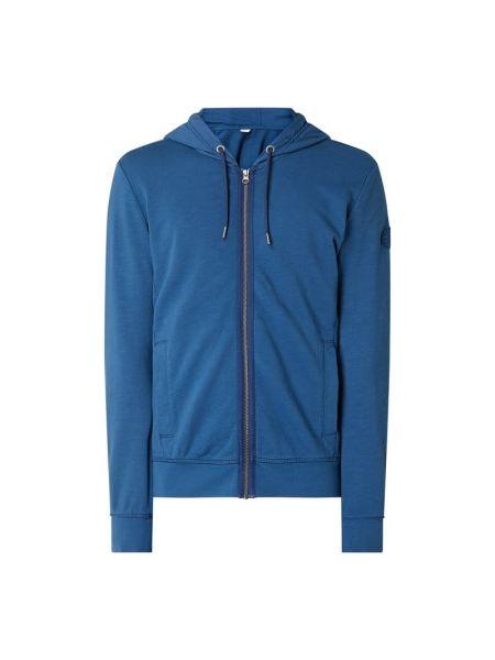 Bawełna bawełna niebieski bluzka z kieszeniami S.oliver Red Label