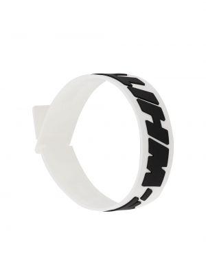 Czarna bransoletka Off-white