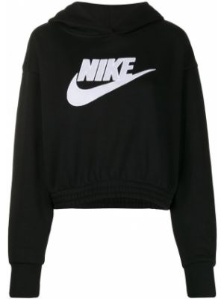 Кроп-топ с капюшоном длинный Nike