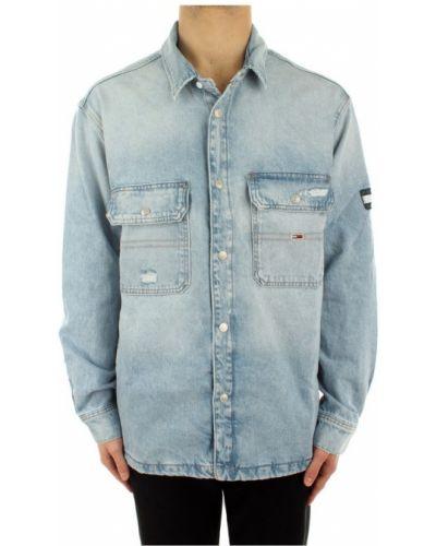 Niebieska koszula jeansowa Tommy Hilfiger