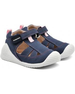 Туфли кожаные текстильные Biomecanics
