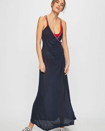 Темно-синее пляжное платье Tommy Hilfiger
