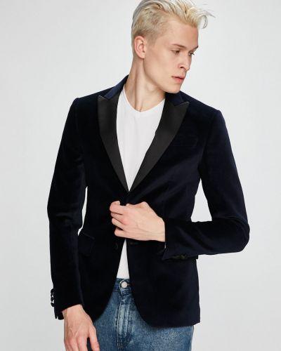 Костюм классический джинсовый хлопковый Trussardi Jeans