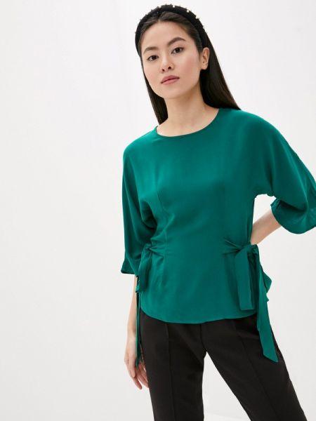 Блузка с длинным рукавом зеленый весенний Incity