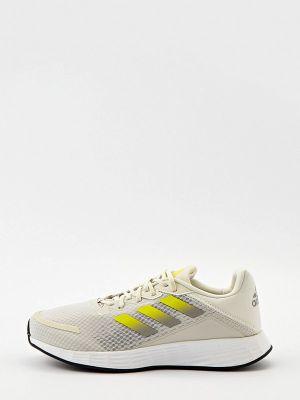 Серые текстильные низкие кроссовки Adidas