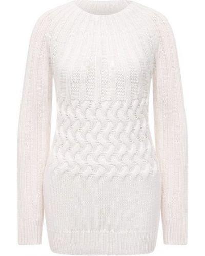 Шерстяной свитер - белый Moorer