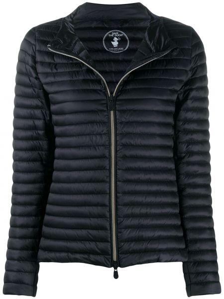 Черный короткая куртка двусторонний с воротником Save The Duck