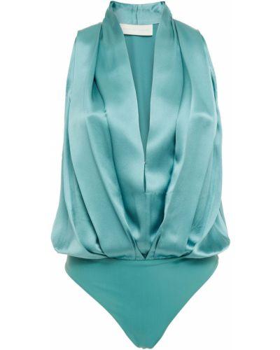 Трикотажное базовое боди на крючках Michelle Mason
