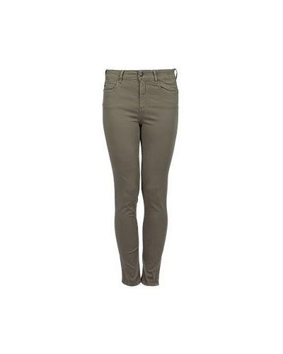 Зеленые джинсы-скинни Mytwin