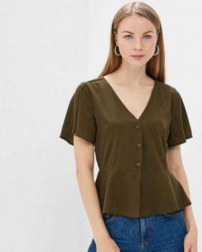 Блузка с коротким рукавом зеленый хаки Brave Soul