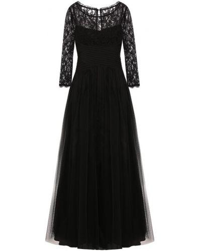 Платье макси приталенное льняное Weill