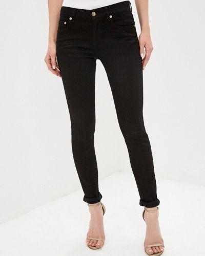 Зауженные джинсы - черные Versus Versace