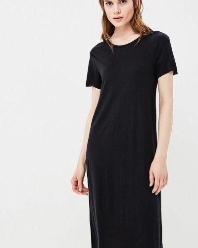Черное платье прямое Selected Femme