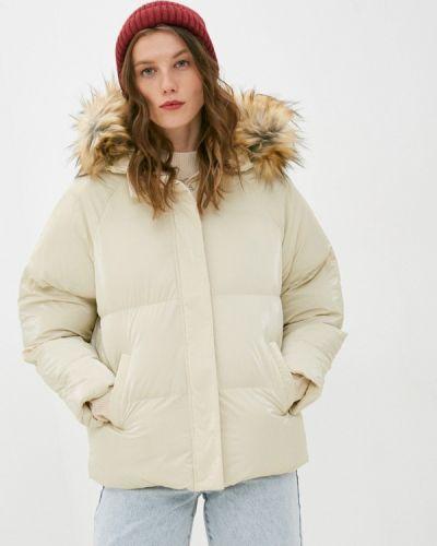 Утепленная бежевая куртка Brave Soul