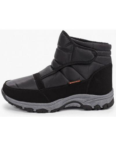Ботинки осенние черные Patrol