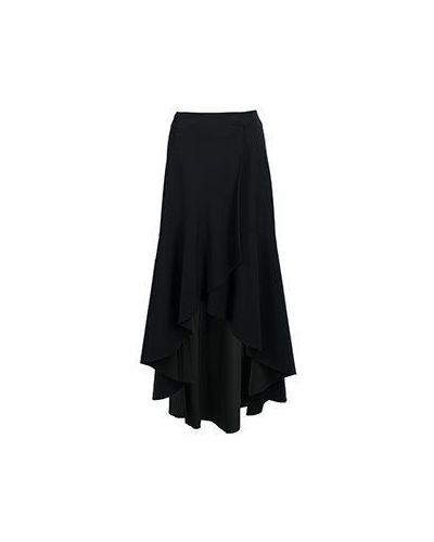 Черная юбка миди Pinko