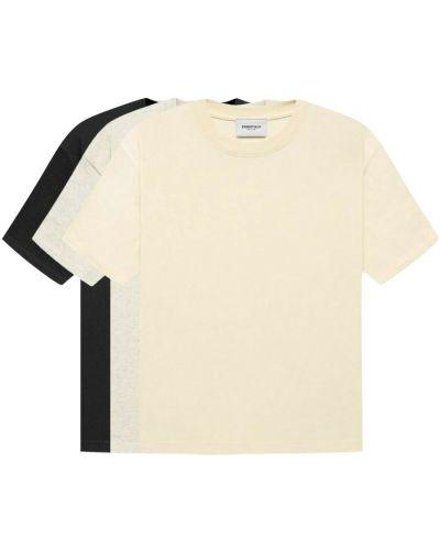 T-shirt - beżowa Fear Of God